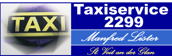 Taxiservice 2299 – Manfred Lister