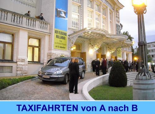Taxifahrten von A nach B