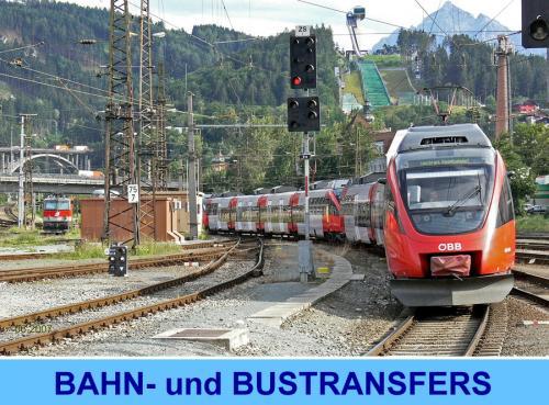 Bahn- und Bustransfers